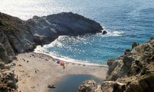 Nas beach, Ikaria