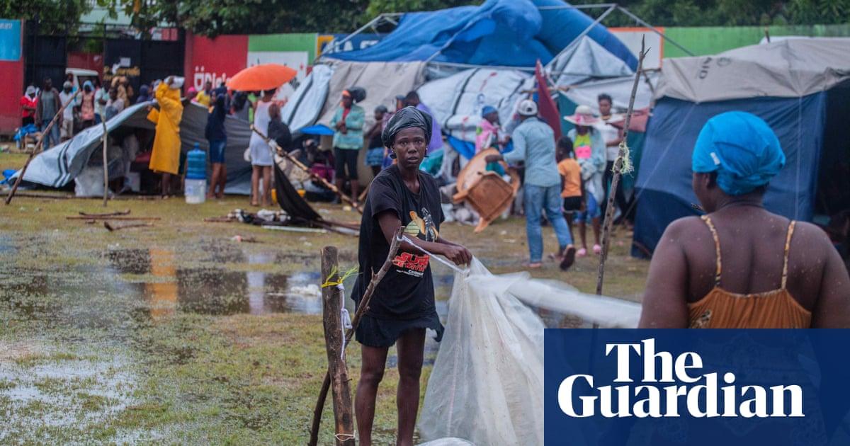 Tropical Storm Grace's heavy rains pour misery on Haiti earthquake survivors