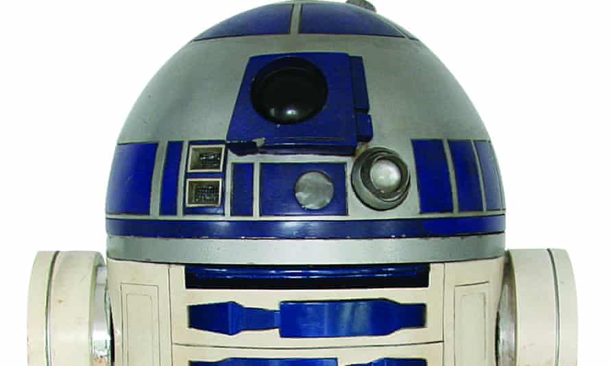 R2-D2 made from pieces salvaged from the Star Wars films by a British enthusiast which has been sold for 2.76 million dollars (£2.13m).