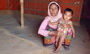 Dildar Begum with her adopted daughter Rahima