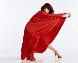 Kate Bush in 1979, the year after her No 1 hit single Wuthering Heights.