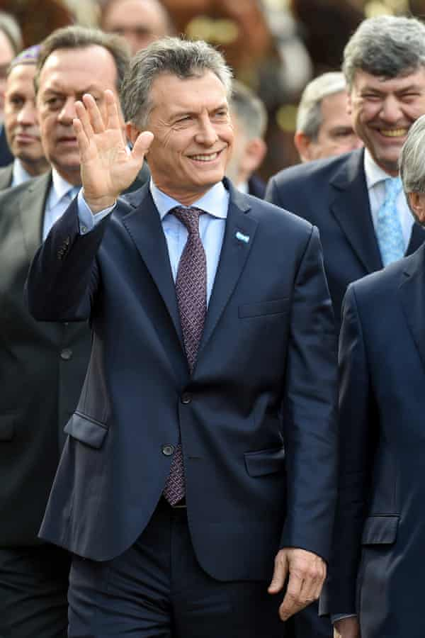 Argentina's new president, Mauricio Macri, has been named in the Panama Papers.