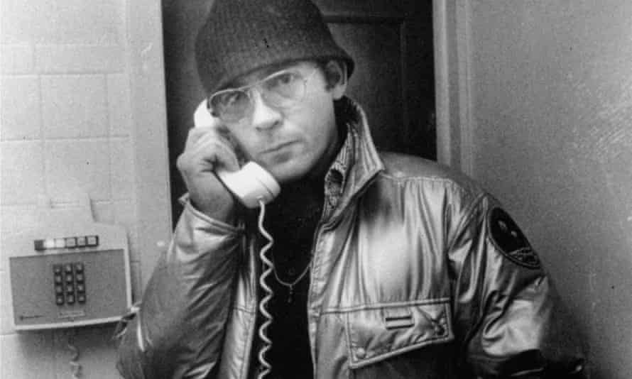 Hunter S Thompson in 1981.