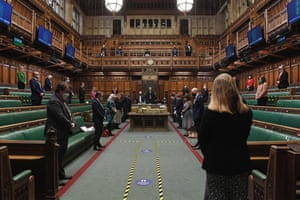 The minute's silence in Parliament at midday
