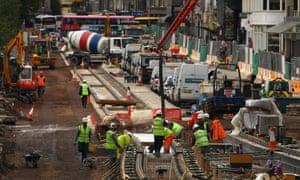 Edinburgh's tram project