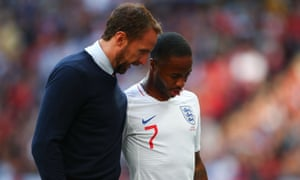 The England manager, Gareth Southgate, believes Raheem Sterling is right to question the lack of coaching and managerial opportunities for BAME candidates.