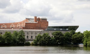 The unfinished Kongresshalle, now home to the Nuremberg Documentation Centre