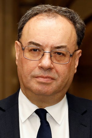 Bank of England Governor Andrew Bailey.