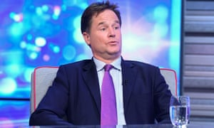 Nick Clegg on ITV's Peston show. Has he moved from a compromised government to a compromised tech platform?