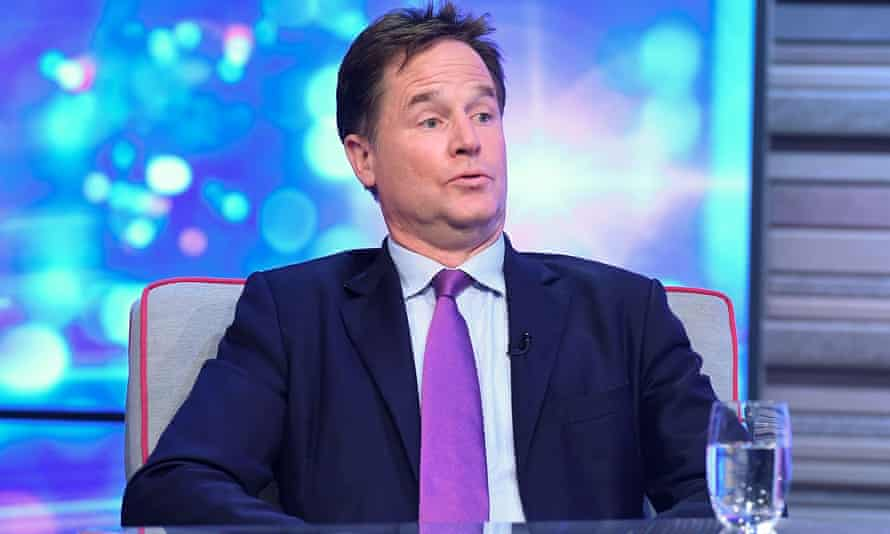 Nick Clegg, the former British deputy prime minister, is now the social media giant's head of global affairs.