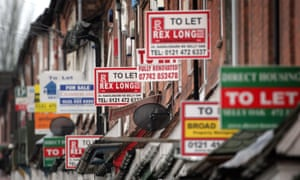 A sign of their times … the proliferation of 'to let' signs in 2007