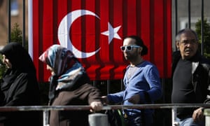 Voters cast their ballots in the recent referendum on the Turkish presidential system. Trump personally congratulated President Erdoğan on the outcome, which granted him sweeping new powers.