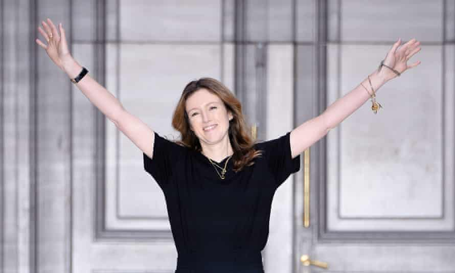 Clare Waight Keller who is taking over the reins at Givenchy.