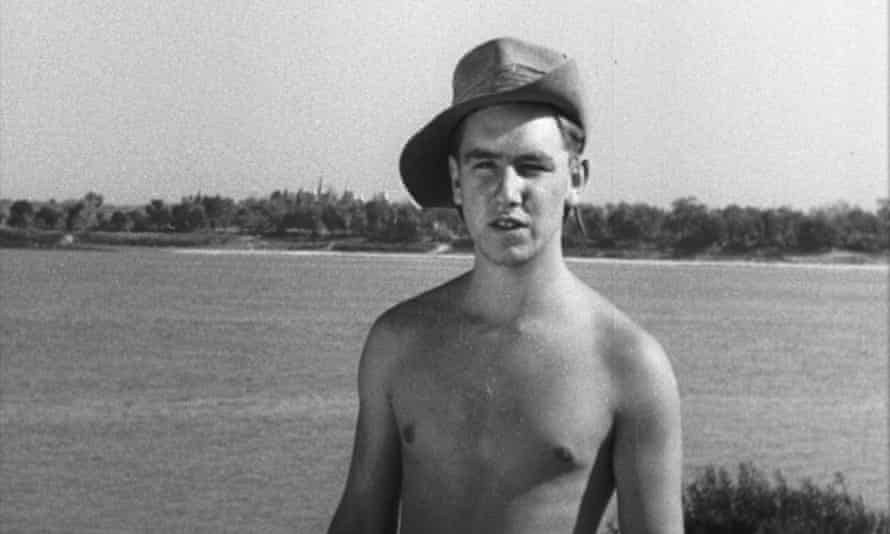 Ken Chadwick in Burma in Messages Home: Lost Films of the British Army