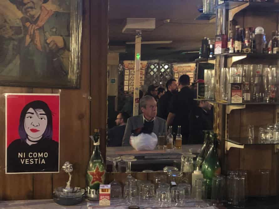 "Eugenio's Bar, in Calle Ramon Corona, which Isabel left minutes before she was executed. At the bar sits Carlo, who remembers Isabel: ""If the Devil had told me someone would pull a trigger against her, I'd have called him a liar""."