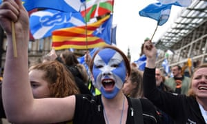 The march is one of a series of events taking place across Scotland between May and October.