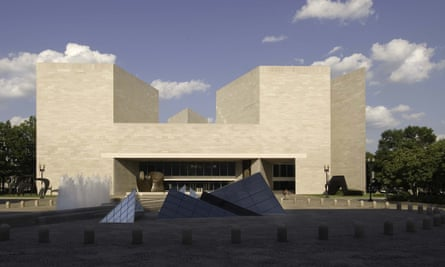 The East Building of the National Gallery of Art, Washington DC, regarded as IM Pei's greatest achievement.