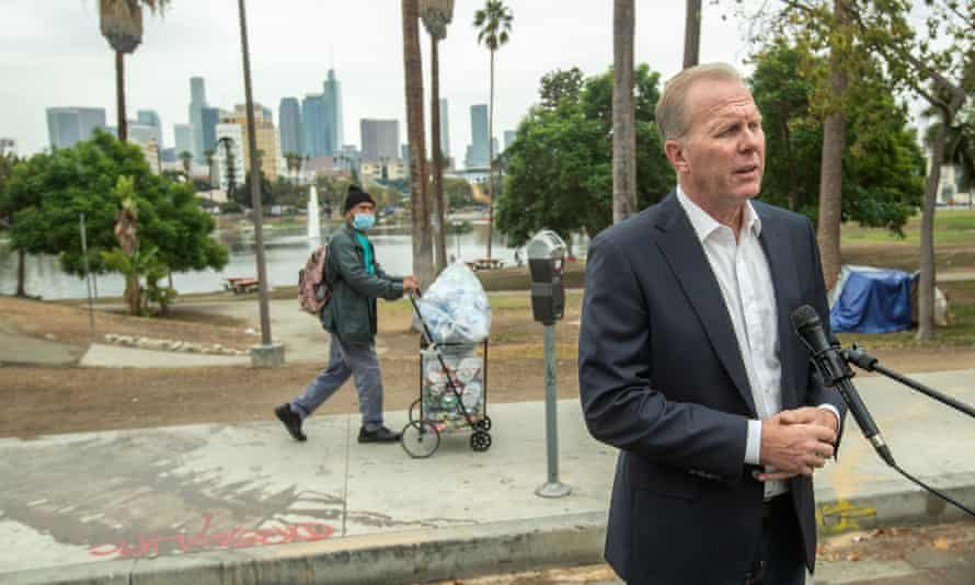 Kevin Faulconer, former mayor of San Diego, is a relatively moderate Republican.