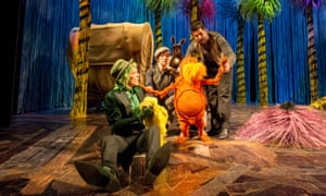 Trust him, he's a doctor: The Lorax at the Old Vic