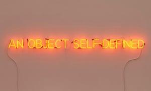 Self-defined object by Joseph Kosuth