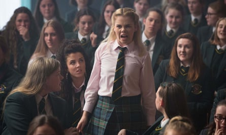 Righteous angst … Saoirse Jackson in Derry Girls.