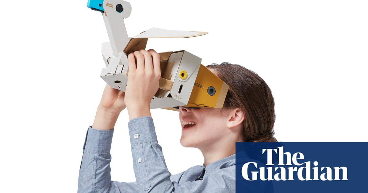Nintendo Labo VR: the Willy Wonka of video games tries virtual reality