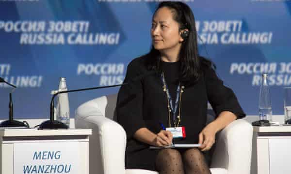 Meng Wanzhou at a VTB Capital Investment Forum session in Moscow, Russia on 2 October 2014.