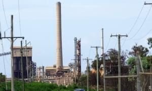 Queensland Nickel's refinery at Yabulu near Townsville.