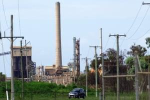 Queensland Nickel refinery at Yabulu