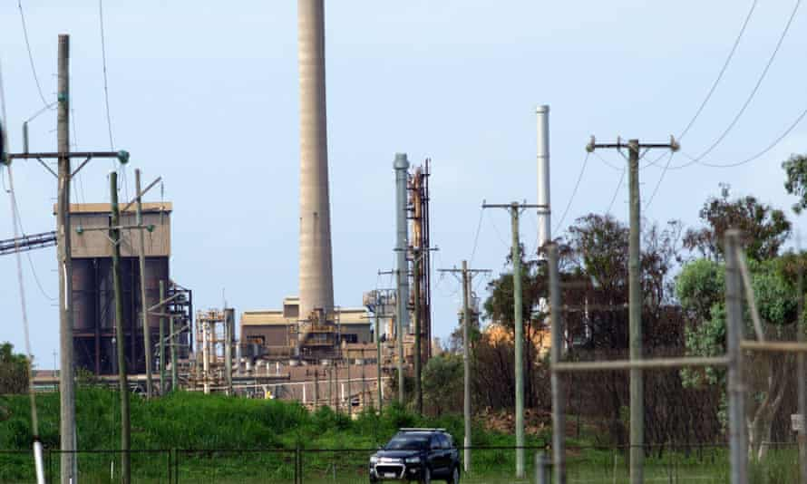 Queensland Nickel refinery