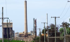 Clive Palmer's Queensland Nickel refinery at Yabulu - a mine site in question for proposed new corporate responsibility legislation.