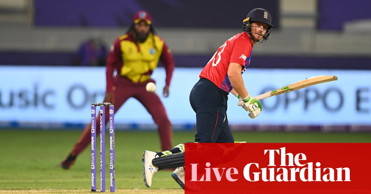 England need 56 to beat West Indies: T20 World Cup – live!