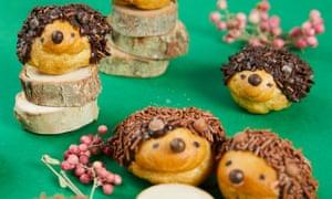 Choux-in: choux hedgehogs.