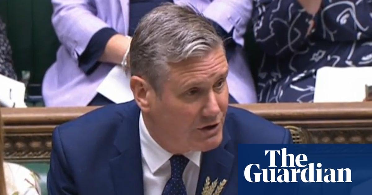 Keir Starmer accuses Boris Johnson of 'hammering' workers