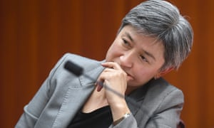 Penny Wong in parliament