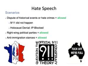 Hate Speech 18
