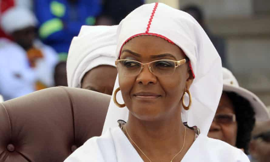 Grace Mugabe completed her PhD just months after enrolling in 2014.