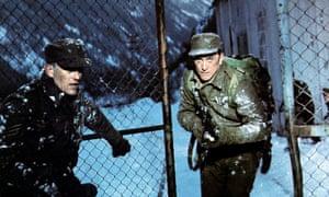 Kirk Douglas in The Heroes of Telemark, 1965.