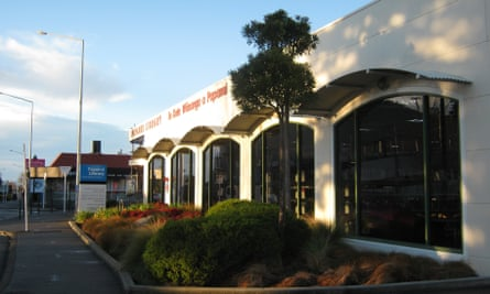 Papanui Library in Christchurch, New Zealand, has installed a high-pitched sound generator to deter youths from gathering outside.