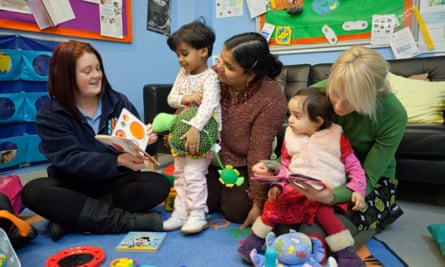 Sure Start Whitley children's centre in Reading.