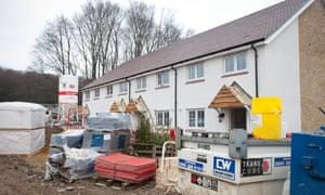 Low cost housing under development