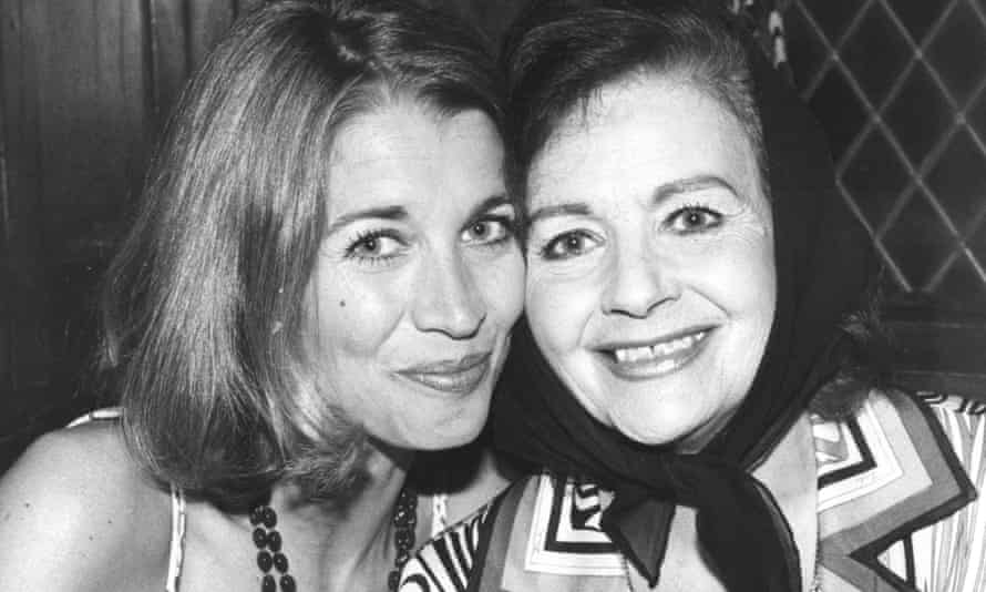 Julia Lockwood with Margaret Lockwood