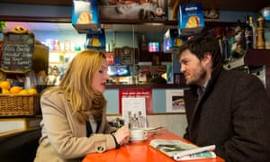 Strike action … Holliday Grainger with Tom Burke in the TV series.