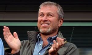 Chelsea owner turned theatre impresario Roman Abramovich.