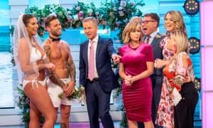 Love Island stars on ITV's Good Morning Britain show.