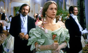 Jean-Francois Balmer and Isabelle Huppert in the 1991 adaptation of Madame Bovary.