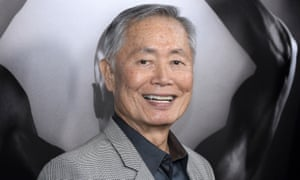 Former Star Trek star George Takei in LA. The US Federal Trade Commission has been scrutinizing celebrity deals to promote brands on social media without disclosing it as advertising.