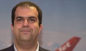 Sir Stelios Haji-Ioannou is easyJet's largest shareholder.