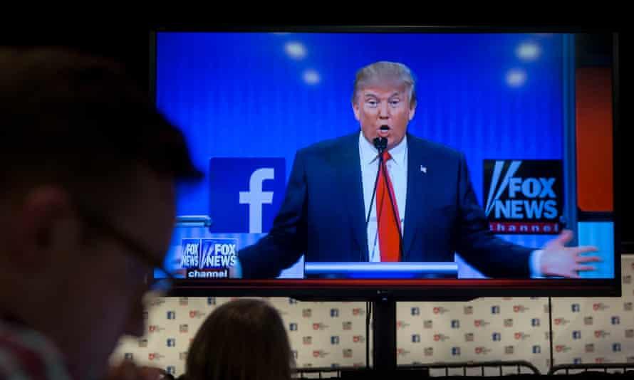 Donald Trump during a 2016 debate.
