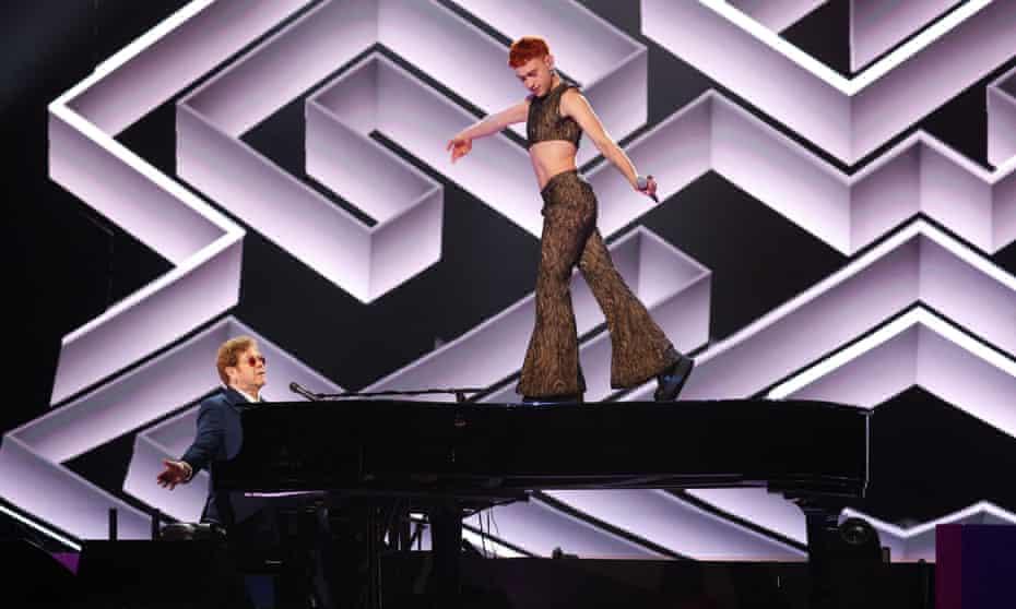 Elton John and Olly Alexander.